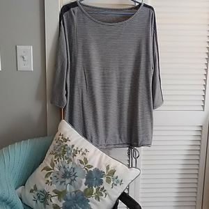 NWOT. Coldwater Creek stripe top. Never worn.